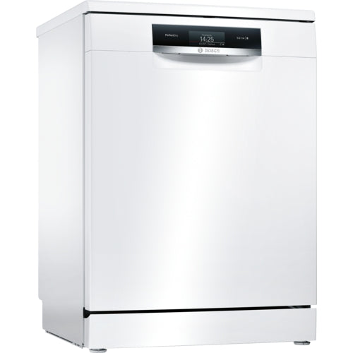 Bosch PerfectDry Dishwasher 60cm Home Connect WiFi connectivity Freestanding Serie 8 SMS88TW06G white