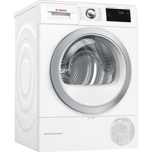 Bosch SelfCleaning Condenser tumble dryer with heat pump WTW87660GB