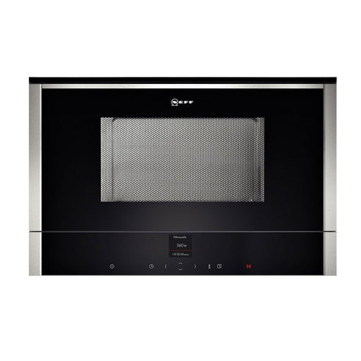 Neff C17WR01N0B Built-in Microwave Stainless Steel