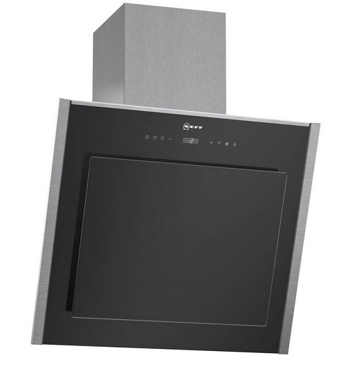Neff D36DT57N0B 60cm Wide Chimney Hood with Glass