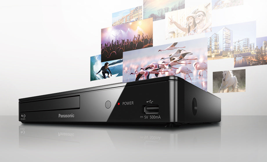 Panasonic DMPBD84 Blu-Ray Disc Player - Multi Region for DVD
