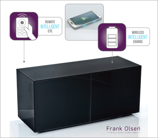 Frank Olsen High Gloss Black 1100 unit 55'' screen