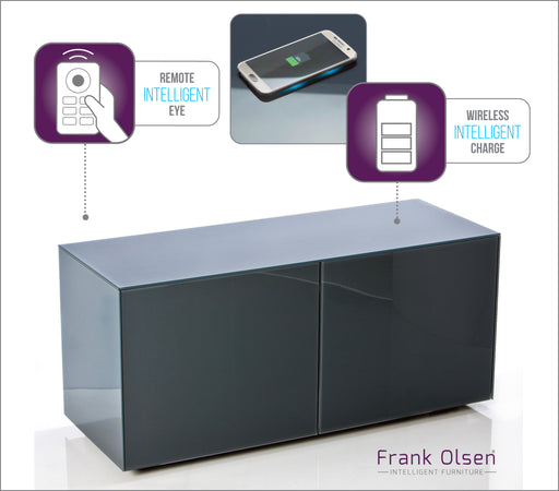 Frank Olsen High Gloss Grey 1100 unit 55'' screen