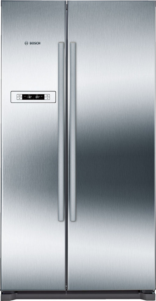 Bosch KAN90VI20G American-style fridge freezer with EasyClean door