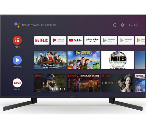 KD49XH9505BU, SONY BRAVIA  (2020) 49 inch 4K HDR Full Array LED TV with Android OS