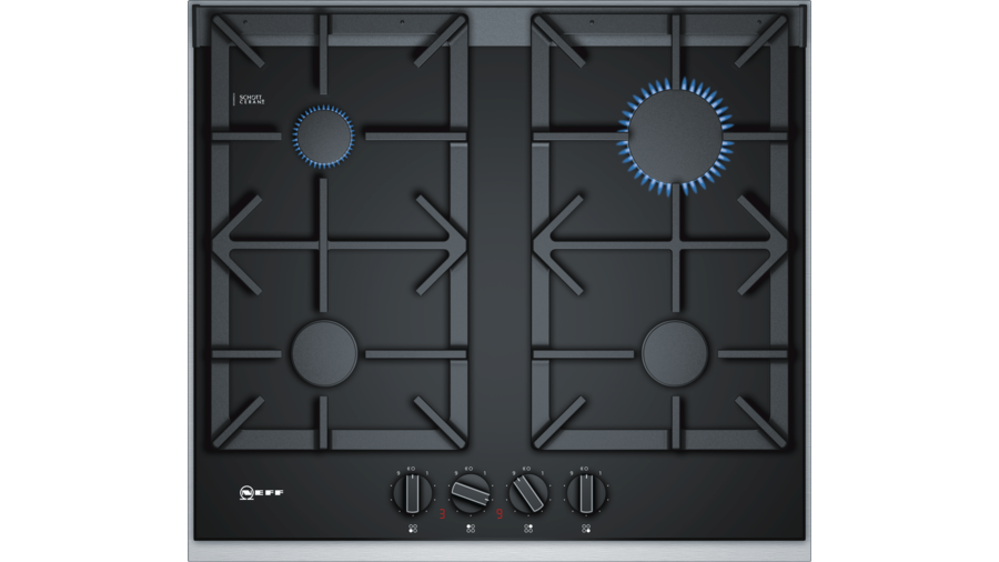 Neff 60 cm, hob, black ceramic glass T26TA49N0