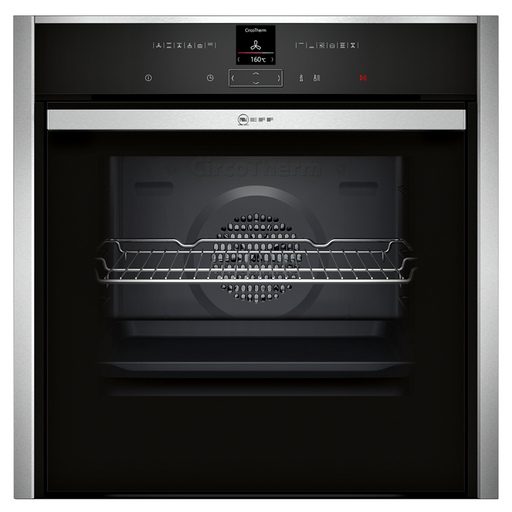 Neff B57CR22N1B Built In Single Oven in Stainless Steel