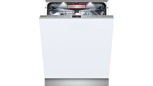 Neff Energy Efficient Dishwasher, S515T80D1G 60cm Fully integrated doorOpen Assist - Simple to use, designed for handleless kitchens