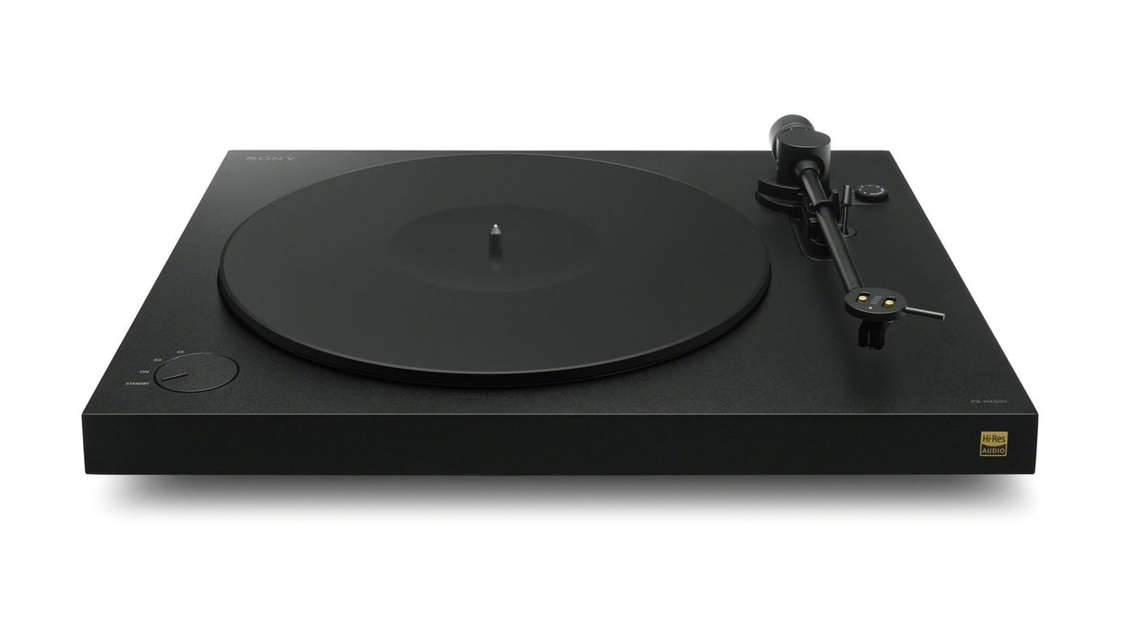Sony PSHX500 Turntable with High-Resolution recording