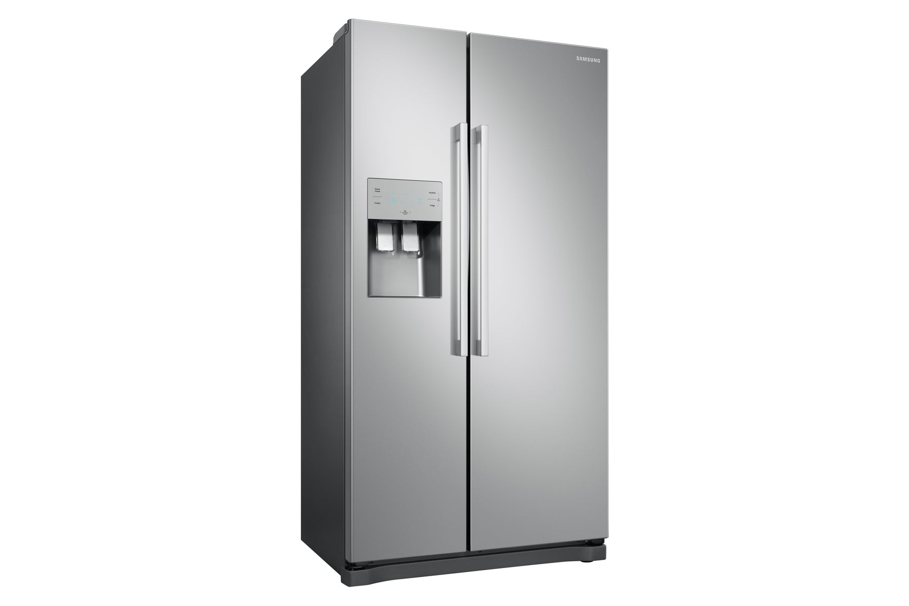 Samsung RS50N3513SA American Style Frost Free Fridge Freezer with Plumbed Water, Ice Dispenser - Graphite