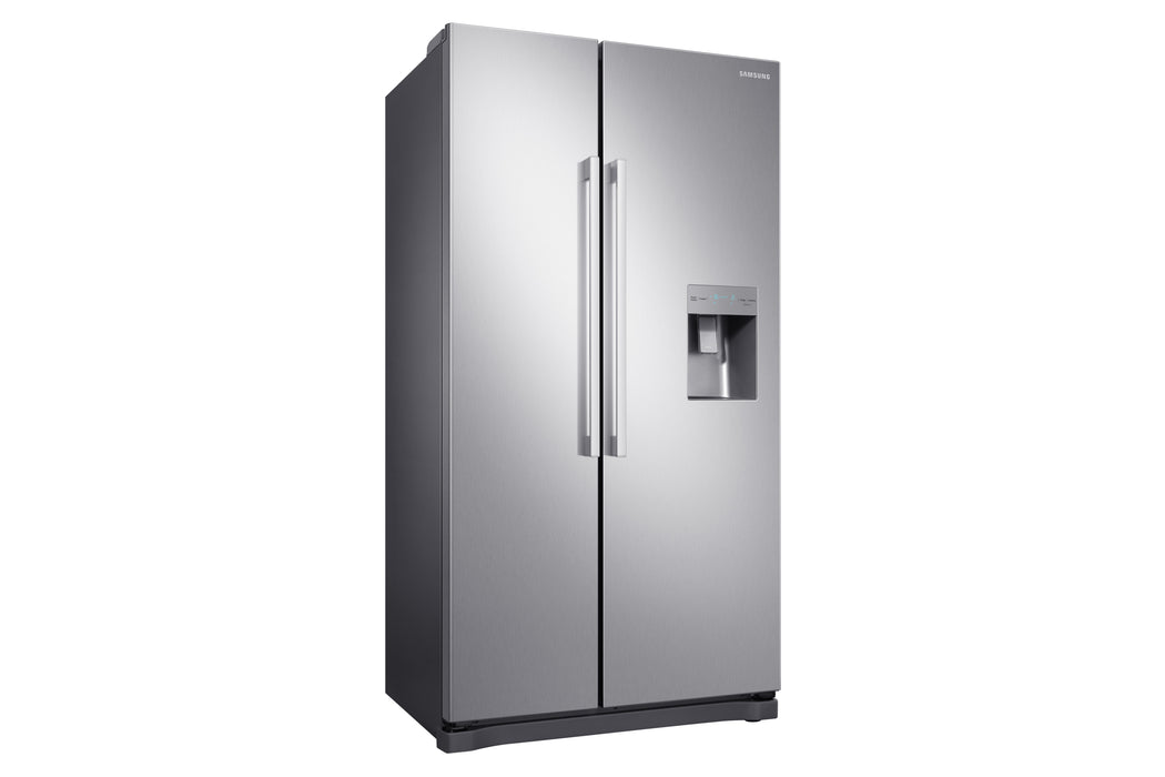 Samsung RS52N3313SL RS3000 91cm Frost Free American Fridge Freezer Clean Steel