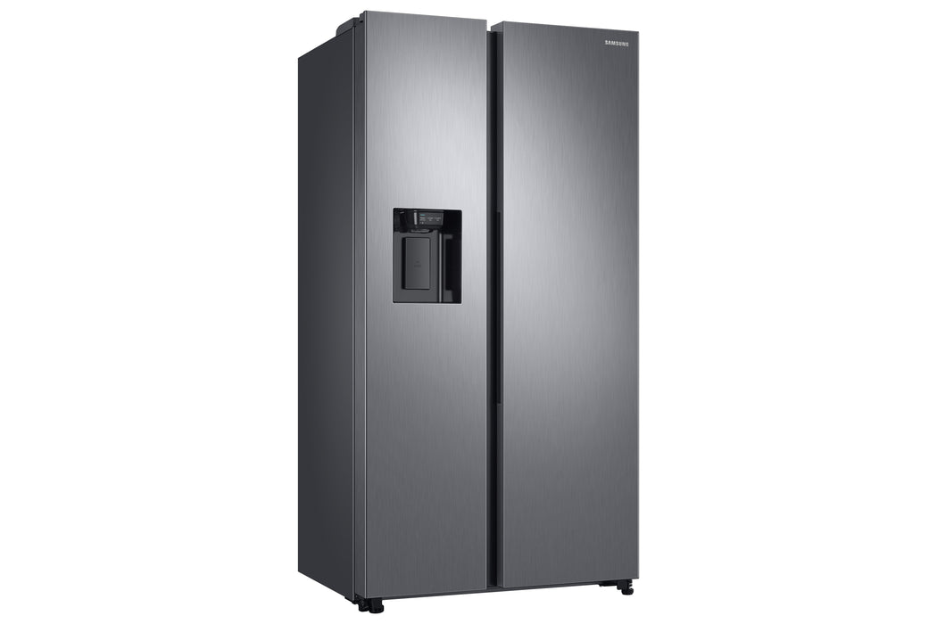 Samsung RS68N8240S9 American Style Frost Free Fridge Freezer with Plumbed Water, Ice Dispenser - Matt Silver