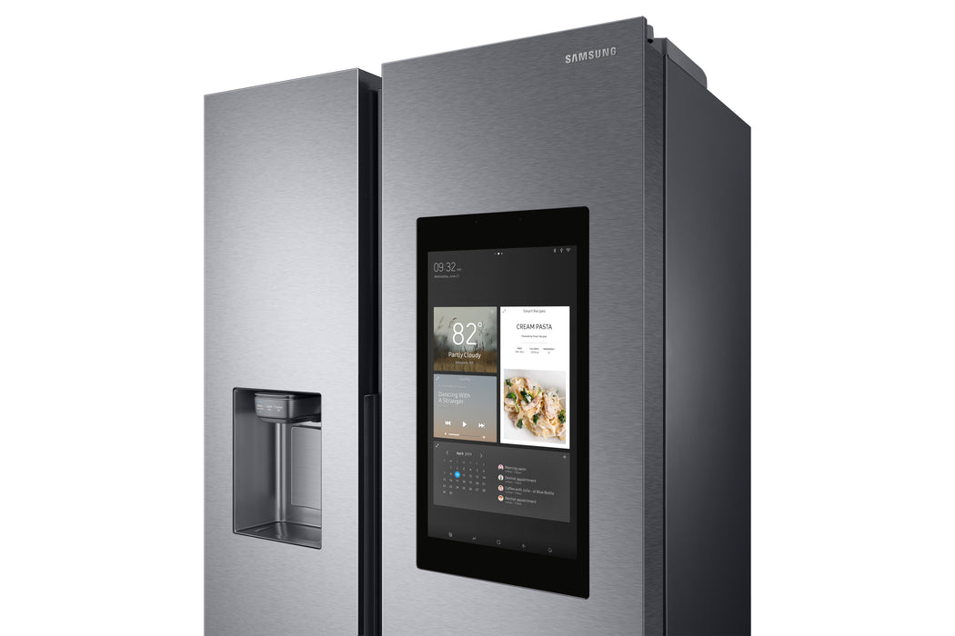 SAMSUNG Family Hub RS8000 RS68N8941SL American-Style Smart Fridge Freezer – Aluminium Share Sh