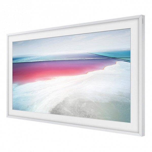 "Samsung VGSCFM55WM Customisable Frame Accessory in White for Samsung Frame 55"" TV"