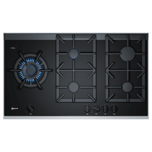 Neff T29TA79N0 Gas Hob, Black