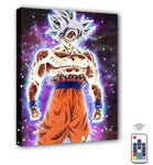 Dragon Ball Super - Goku Quadro Iluminado Com LED