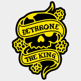 DTK LOGO STICKER - YELLOW ON BLACK