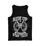 RISE UP, STAY TRUE - TANK (DTK x BTT)