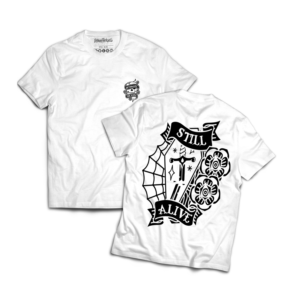Still Alive T-shirt White