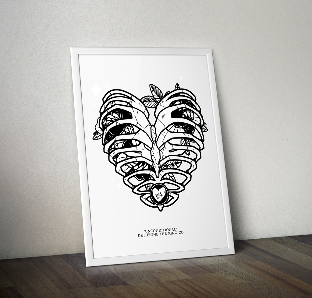 Unconditional A3 Art Print