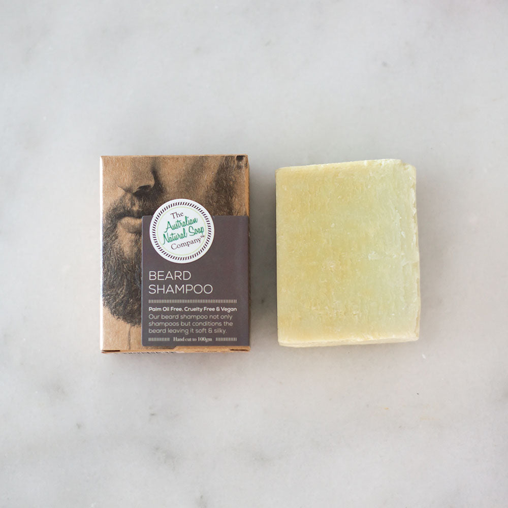 Australian Natural Soap Co Beard Shampoo Bar