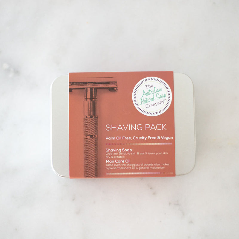 Australian Natural Soap Co Shaving Pack