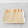 "Biodegradable Palm Leaf Plate - 9"" Square"