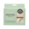 Ever Eco Organic Cotton Produce Bags - Net - 4pk