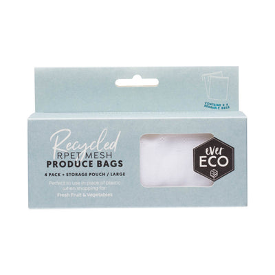 Ever Eco Recycled Produce Bags - Mesh - 4pk