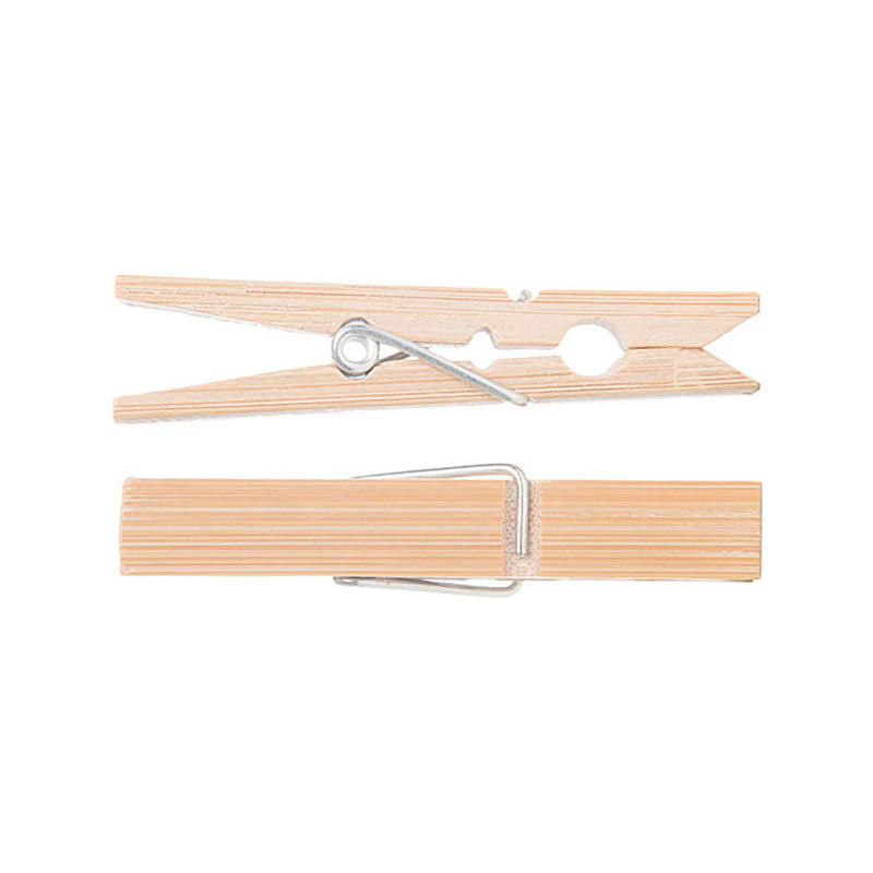Go Bamboo Clothes Pegs - 20 pack