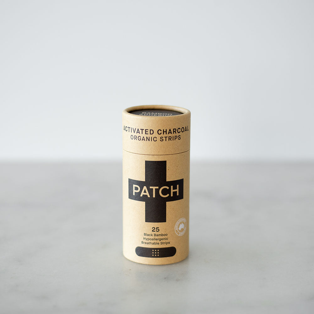 Patch Adhesive Bandage Strips - Activated Charcoal