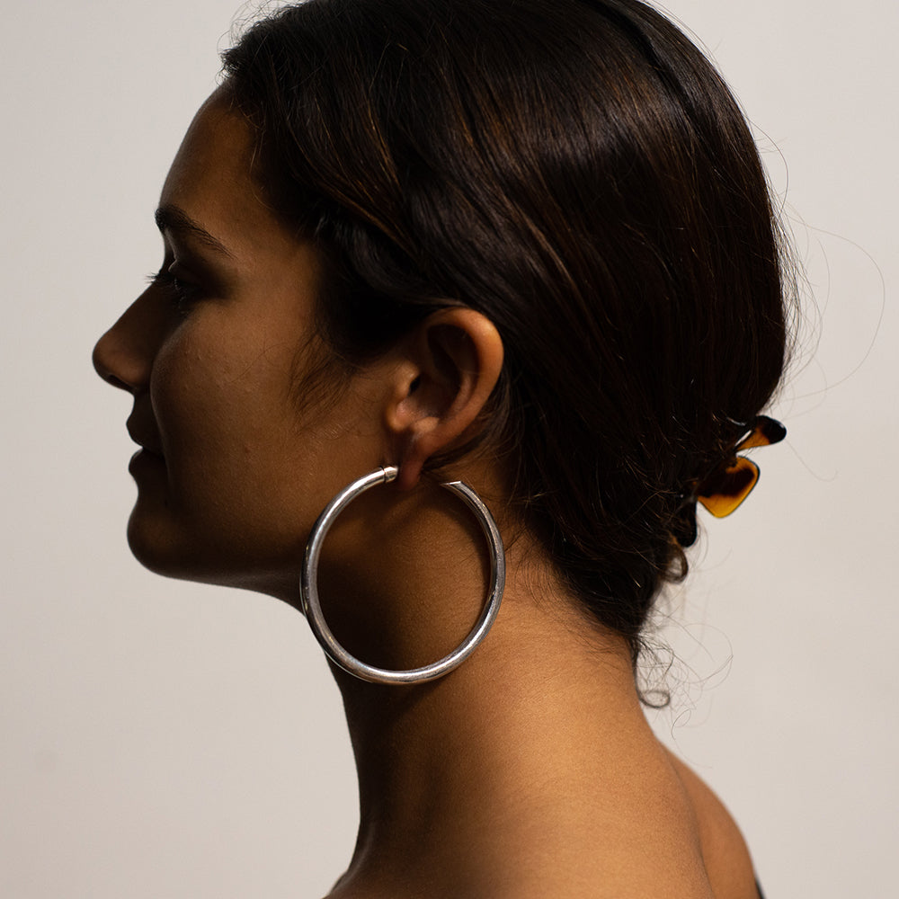 Article 22 All Around Jumbo Hoop Earrings 6.1cm