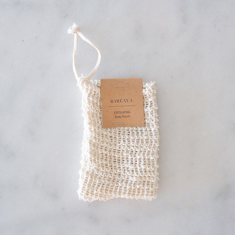 Bareaya Exfoliating Soap Pouch
