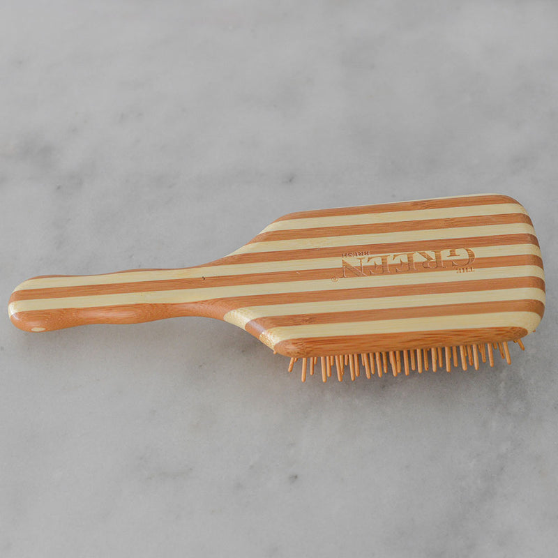 Bass Bamboo Hairbrush - Large Square