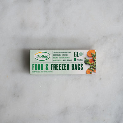Biobag Compostable Freezer Bag - 6L