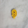Handmade Beeswax Number Candle
