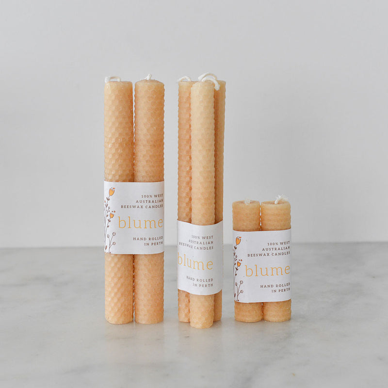 Blume Beeswax Candle - Templar Dinner Candle Duo Pack