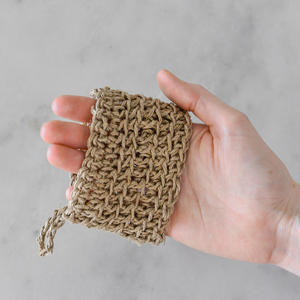 Boho Things Exfoliating Mitt Half - Hemp