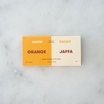 Chow Cacao Raw Chocolate - Orange Jaffa
