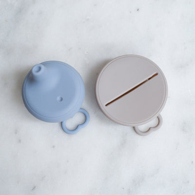 Dove and Dovelet Sippy / Snack Lid Set