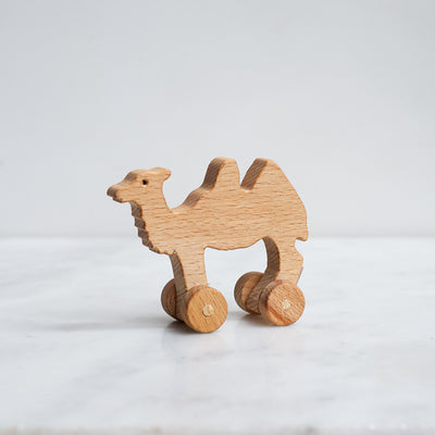 Dove and Dovelet Wooden Camel Toy