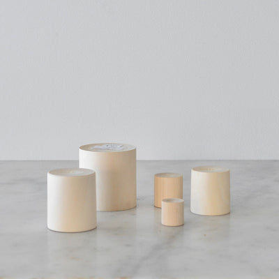 Dove and Dovelet Wooden Stacking Cups