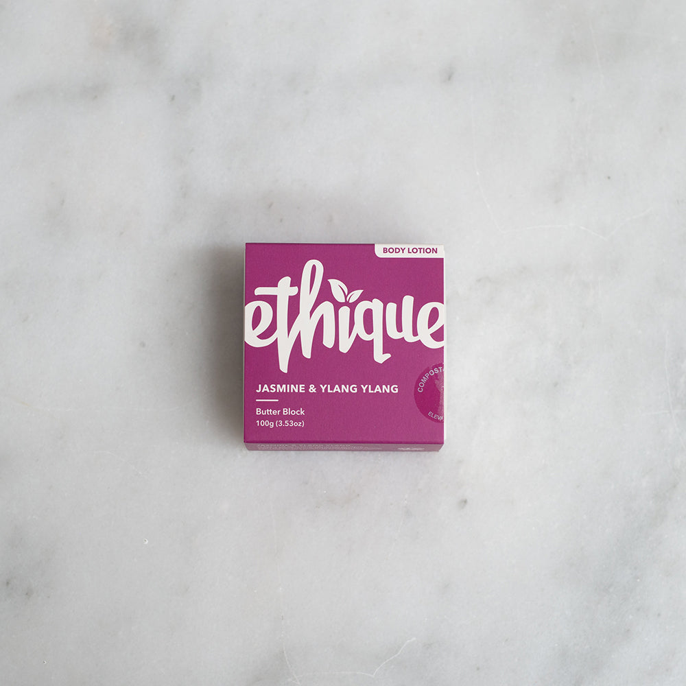 Ethique Solid Body Butter Block - Jasmine + Ylang Ylang