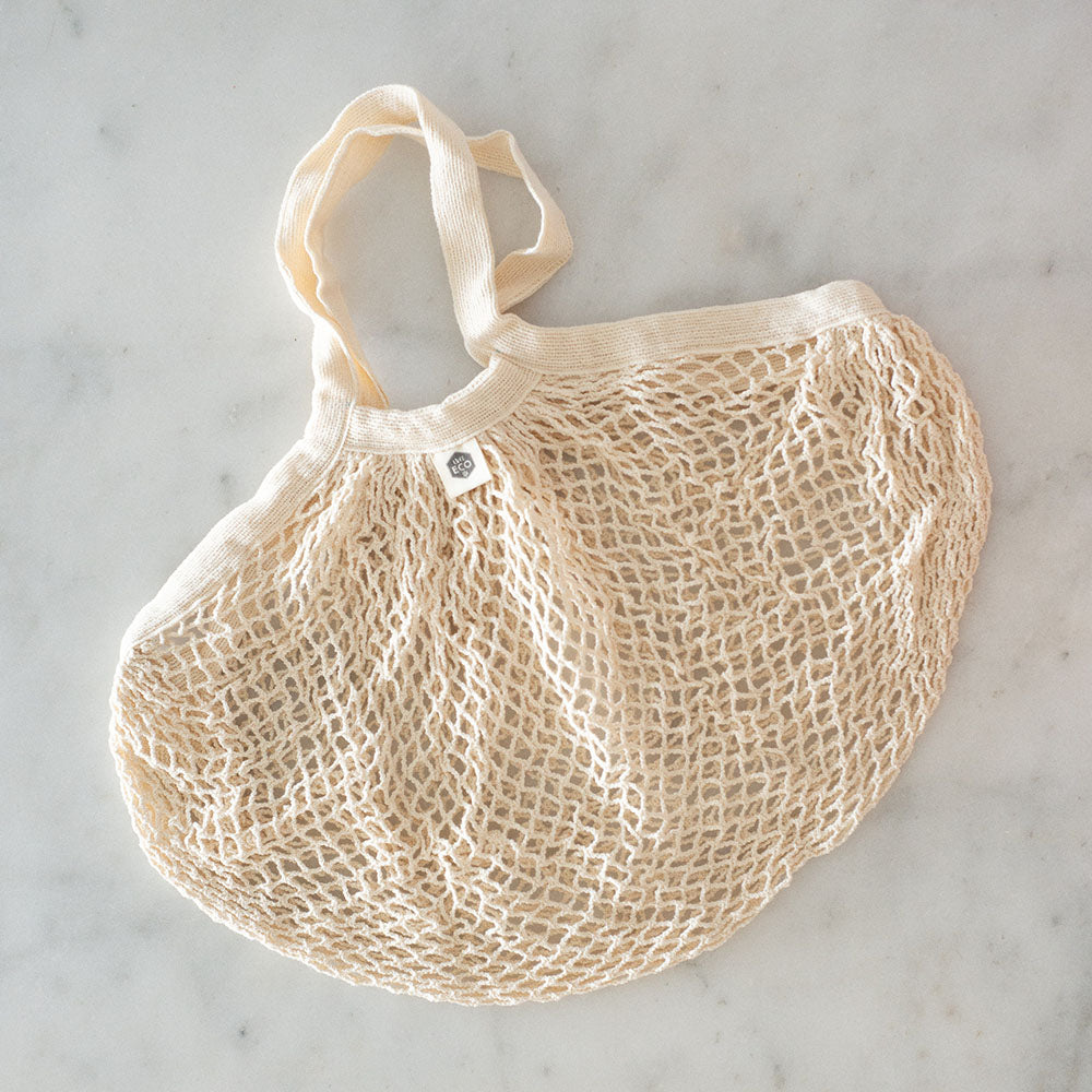 Ever Eco Organic Cotton Net Tote Bag - Short Handle
