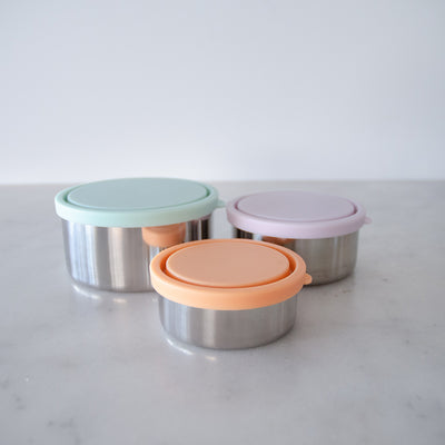 Ever Eco Round Nesting Containers - Spring
