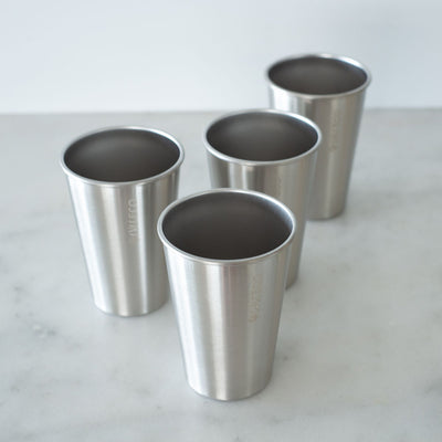 Ever Eco Stainless Steel Drinking Cups - 4pk