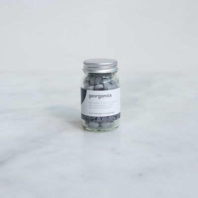 Georganics Natural Toothpaste Tablets - Activated Charcoal