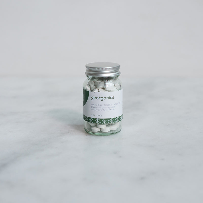Georganics Natural Toothpaste Tablets - Tea Tree