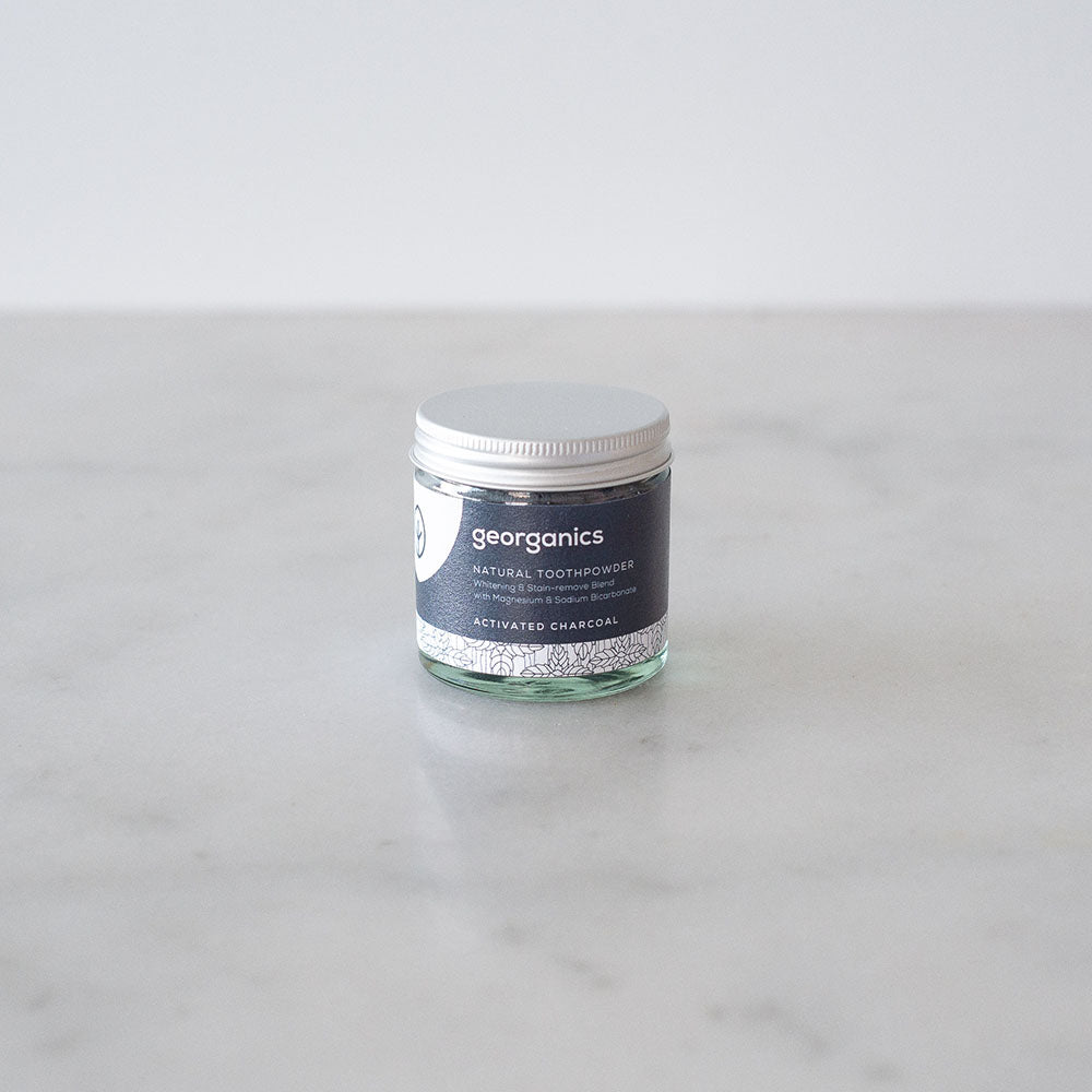 Georganics Tooth Powder - Activated Charcoal