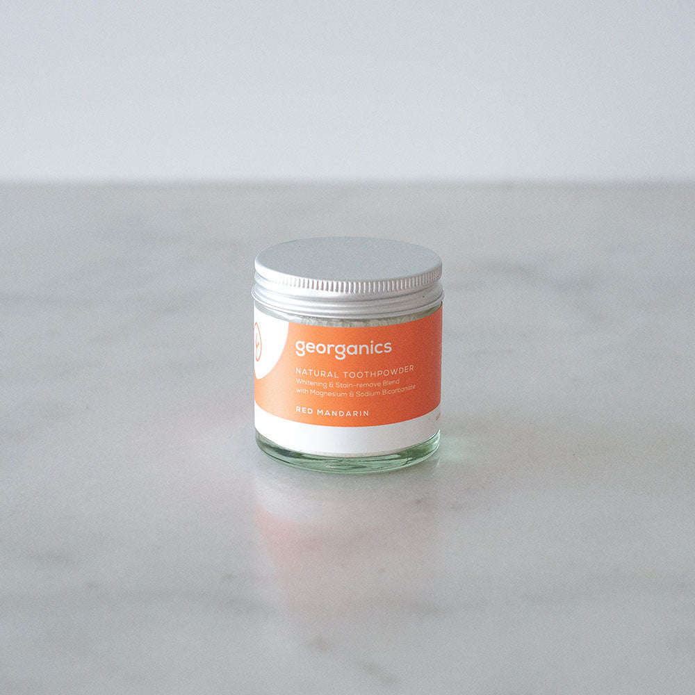 Georganics Tooth Powder - Red Mandarin